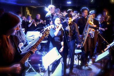 United Big Band im Jazzclub Schlot