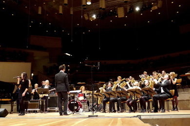 Konzert der United Big Band in der Philharmonie